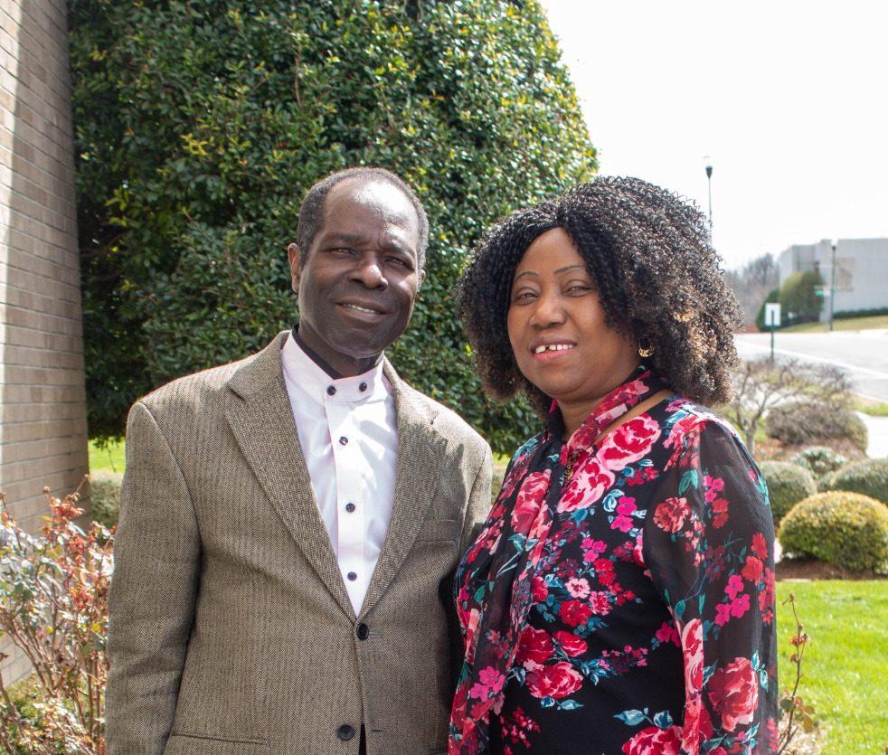 Pastor Emmanuel and Bola Ohikhueme